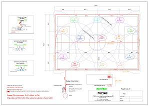 Zavlažovací systém fotbalového hřiště 10 + 3