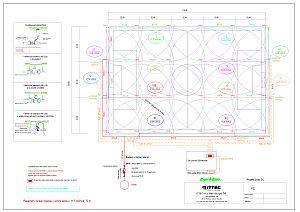 Zavlažovací systém fotbalového hřiště 16 + 8