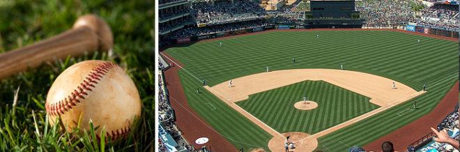 Zavlažování baseballového hřiště