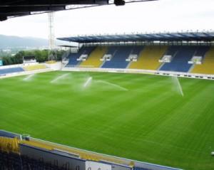 závlaha fotbalového hřiště